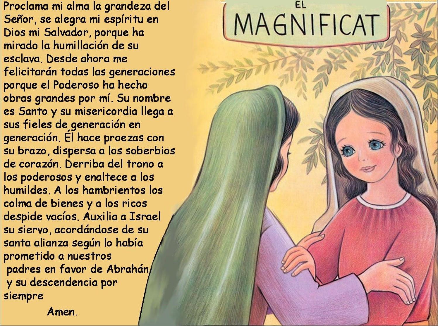 Bildergebnis für magnificat spanisch