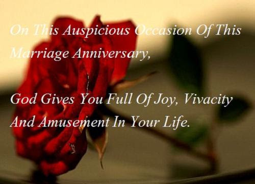 Marriage Anniversary Picture Messages