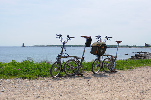 Bromptons in Maine