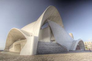 The concert hall of Santa Cruz de Tenerife. De...
