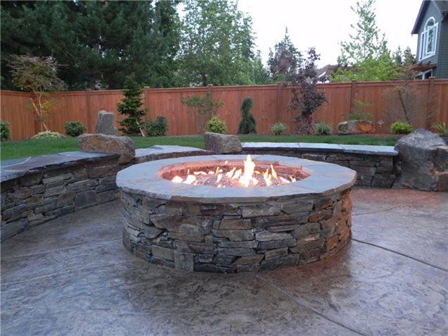 Gas Fire Pit Designs