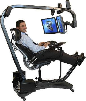 Workspaces por gênero Psicológico - Fanático por ergonomia