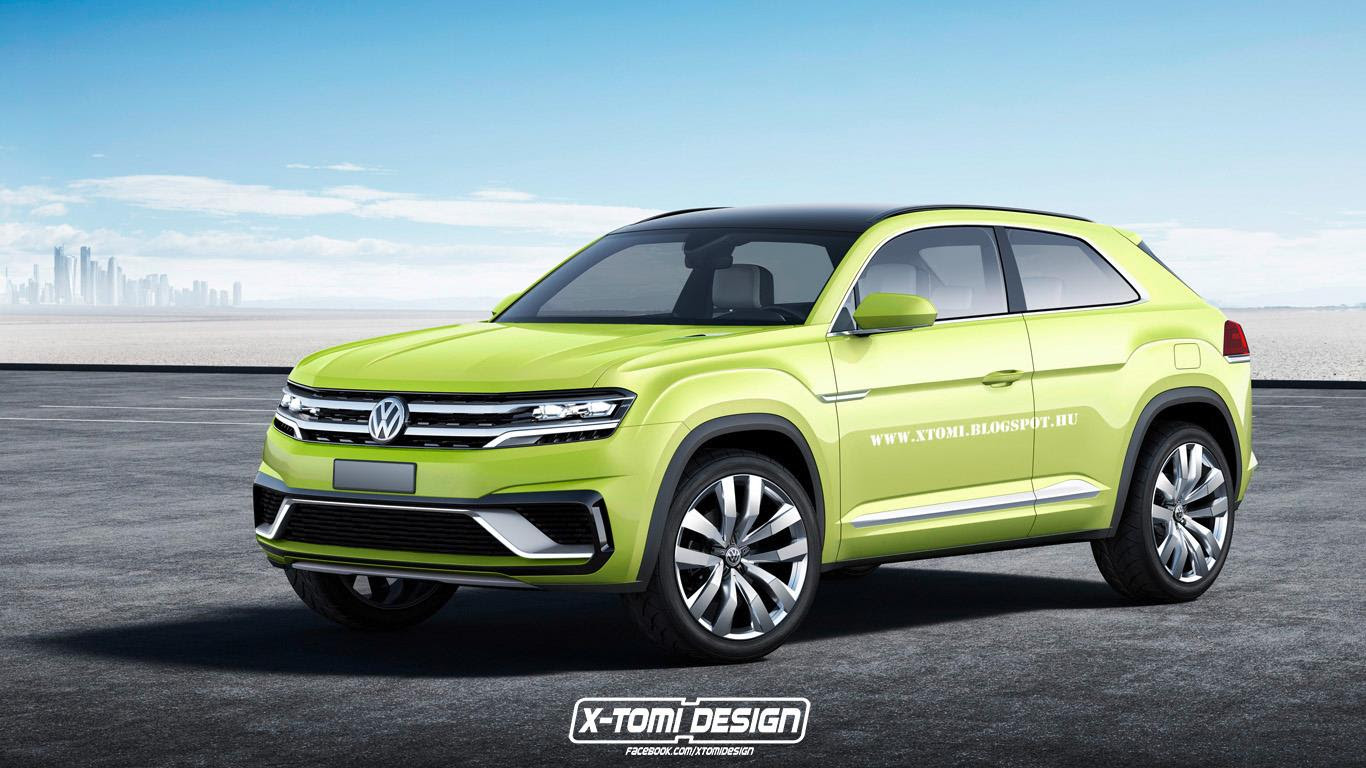 volkswagen working on tiguan coupe r with 300 hp 98795_1