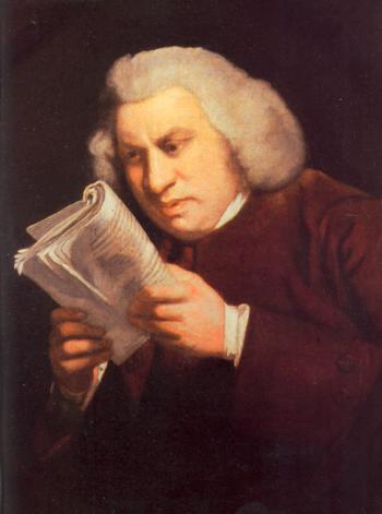 Portrait de Samuel Johnson de Joshua Reynolds