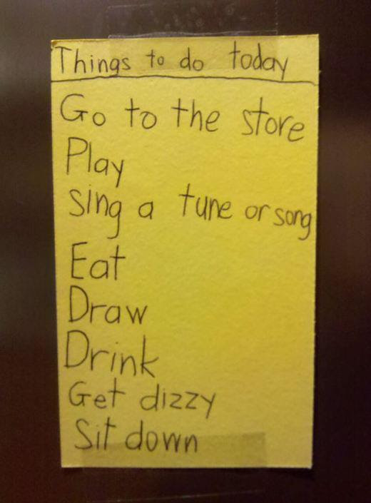 My Son Has A Long To Do List Today Funny Pictures Quotes Pics