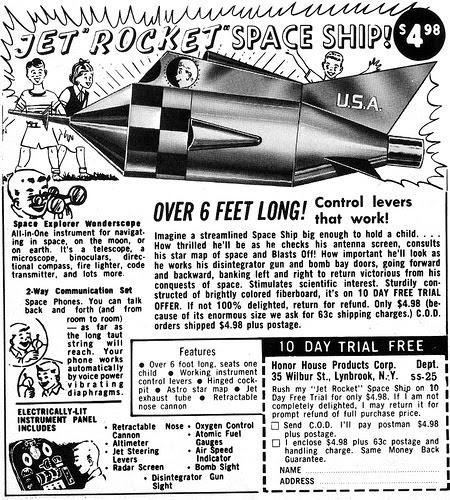 jet rocket space ship