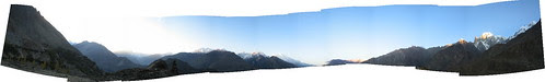 Panorama from Duikar viewpoint, sunrise
