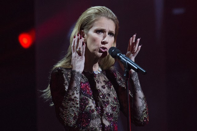 Céline Dion... (Photo Graham Hughes, PC)