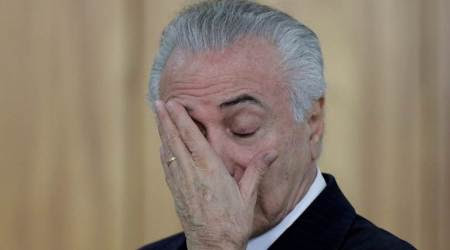 Brazil's Congress rejects corruption case against President MichelTemer