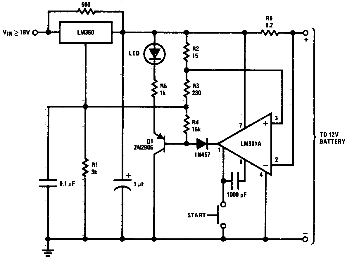 Diagram Simple Circuit Diagram Of 12v Battery Charger Full Version Hd Quality Battery Charger Uwiringx18 Locandadossello It