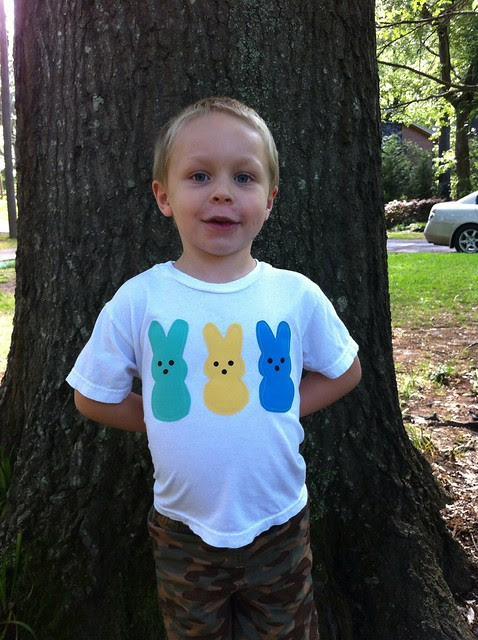 Luke's peeps shirt