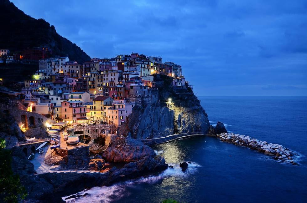 Cinque Terre, Itália.