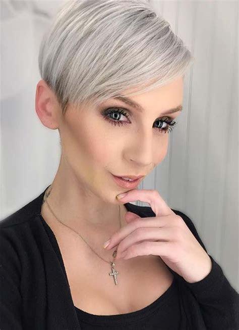 short hairstyles  women pixie bob undercut hair
