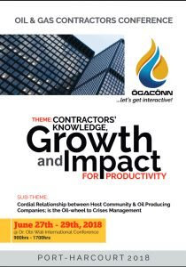 Oil & gas contractors conference holds next month in Port Harcourt