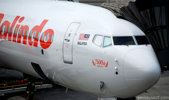 7500th Boeing 737