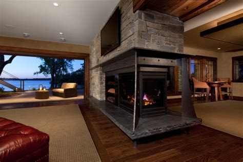 Substantial two room fireplace   FaveThing.com