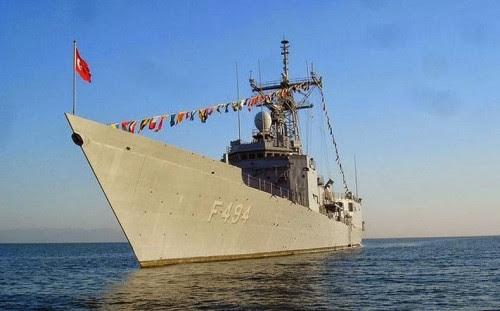 Συνωστισμός πολεμικών σκαφών ανοικτά της Κύπρου