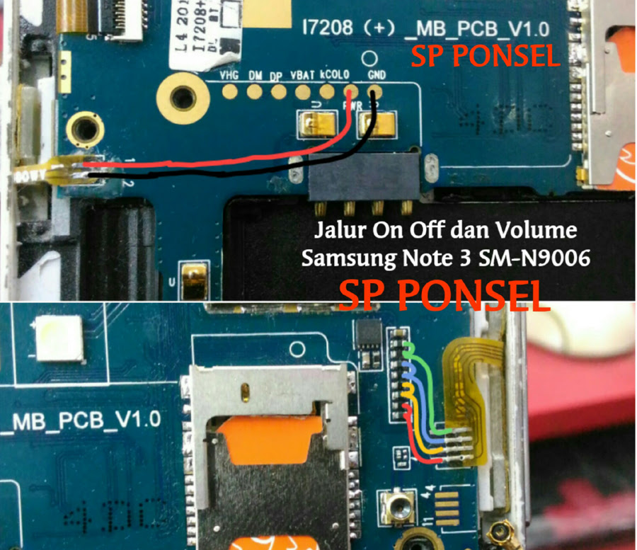 Samsung Galaxy Note3 N9006 Volume Up Down Keys Not Working Problem Solution Jumpers