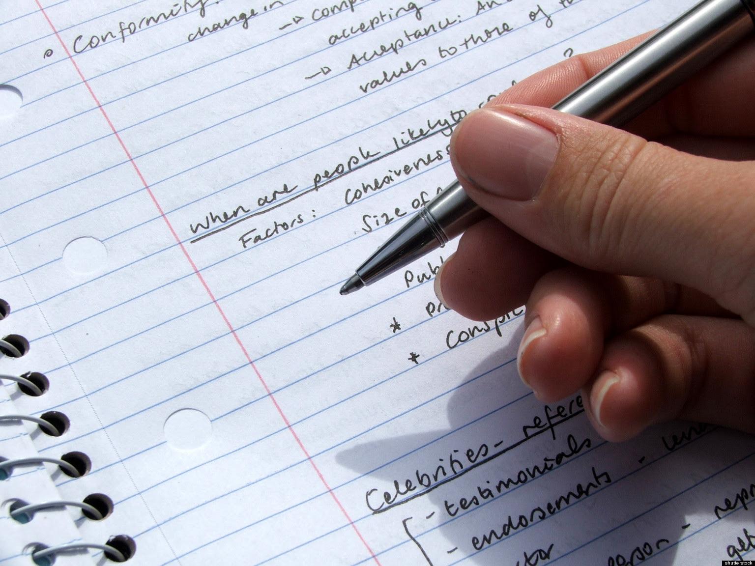 Essay model college