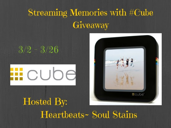 Streaming Memories with #Cube Blogger Opp. Sign ups close 2/28