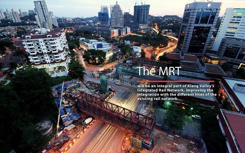The Klang Valley Mass Rapid Transit Kvmrt Malaysia First Mrt Project