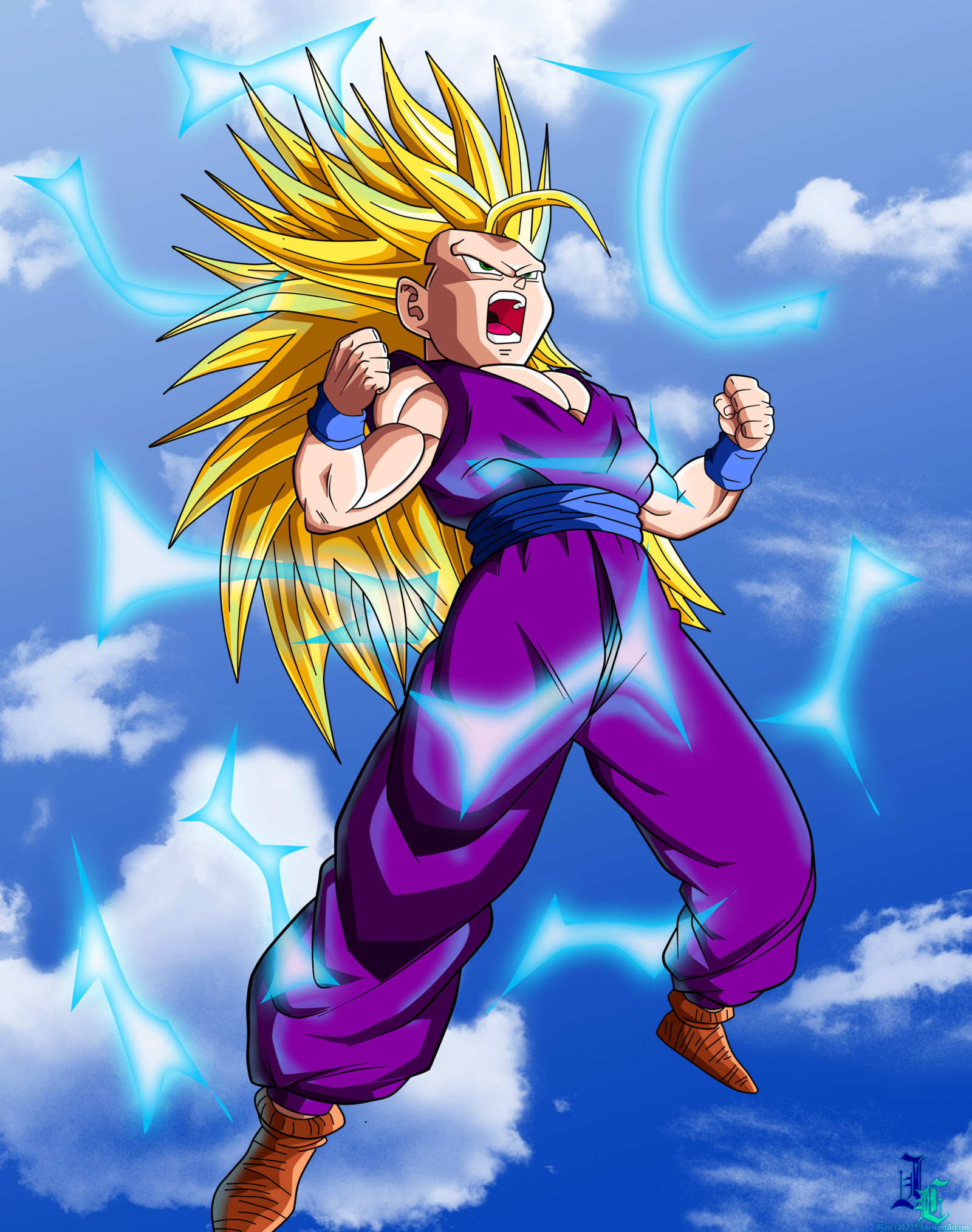 Teen Gohan Ssj2 Wallpaper 57 Images