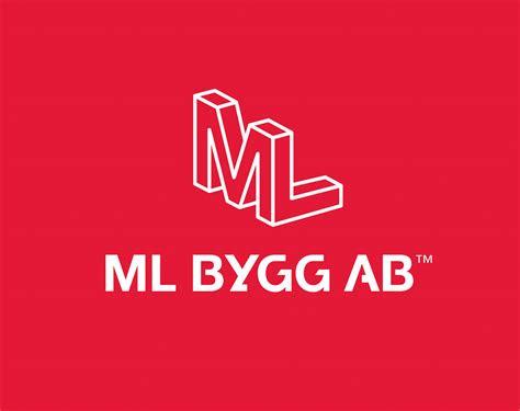 logo design  ml bygg ab bjoern berglund creative