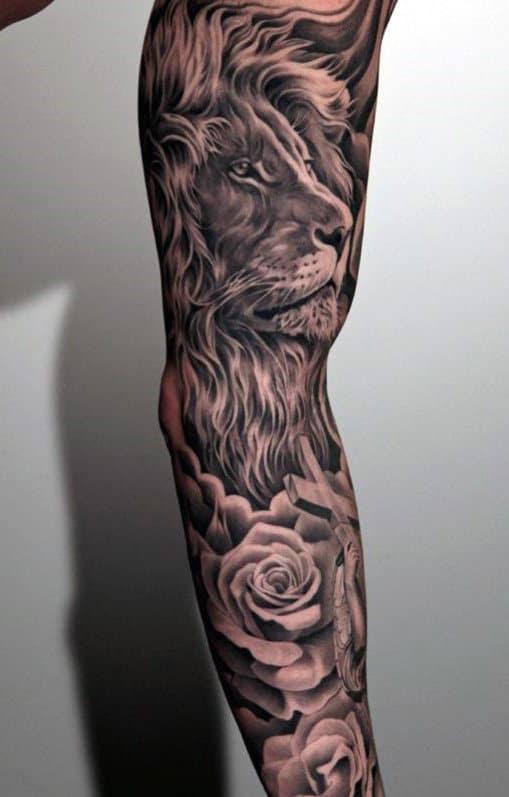 Mangas de tatuagem para homens