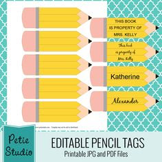 Printable Cubby Name Tags | printable classroom rules untitled ...