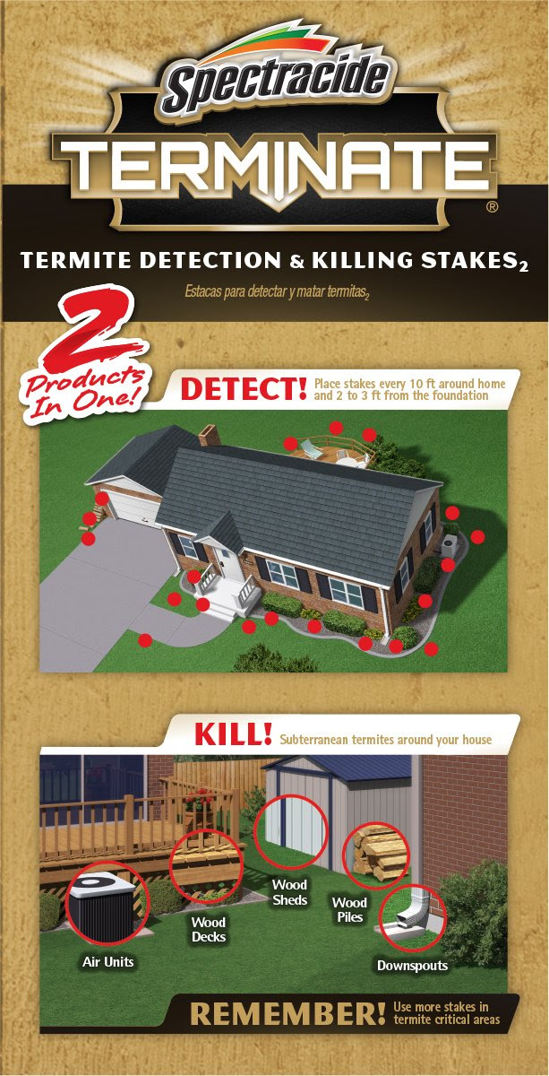 Amazon.com : Spectracide Terminate Termite Detection and Killing ...