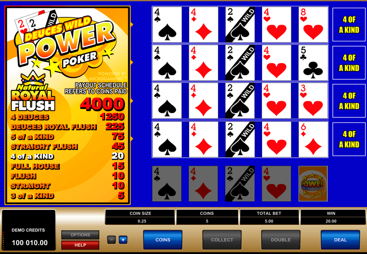 Strategy for Playing Deuces Wild Online In these kind of scenarios, you can either go with the strategy guide above or go with your gut.But, you won't see something this unique very often.By clicking above you will be taken to one of the best online casinos to play video poker.i have personally tested them and i hope you enjoy them too!.