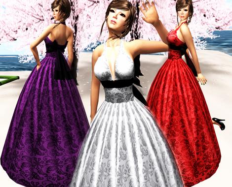 Karakusa Gown