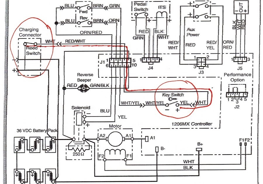36 Volt Battery Wiring Diagram Lift