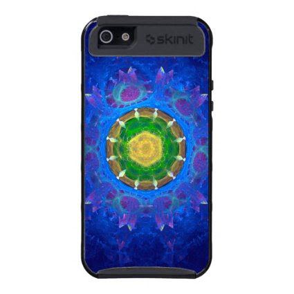 Blue-Green Tie Dye Cases For iPhone 5
