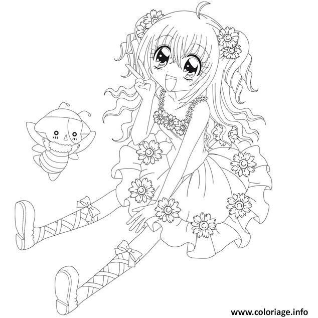 Coloriage Manga à Imprimer