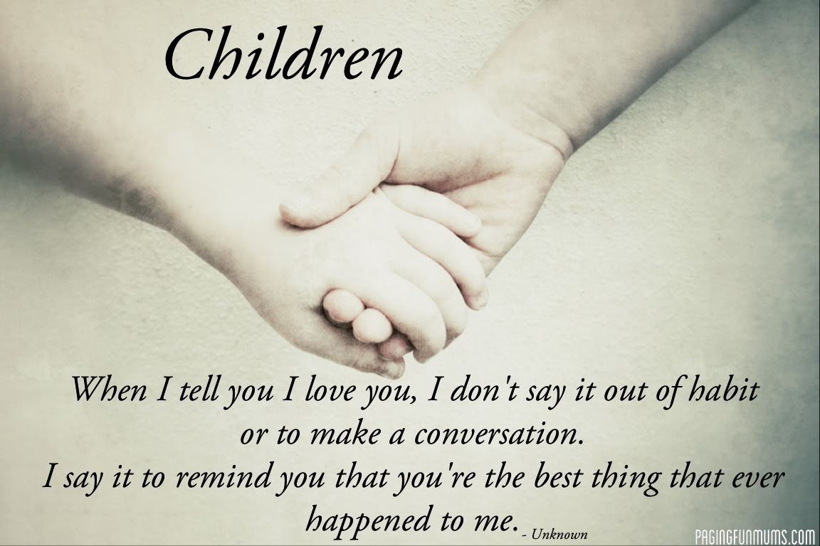 Quotes About Love Of A Child