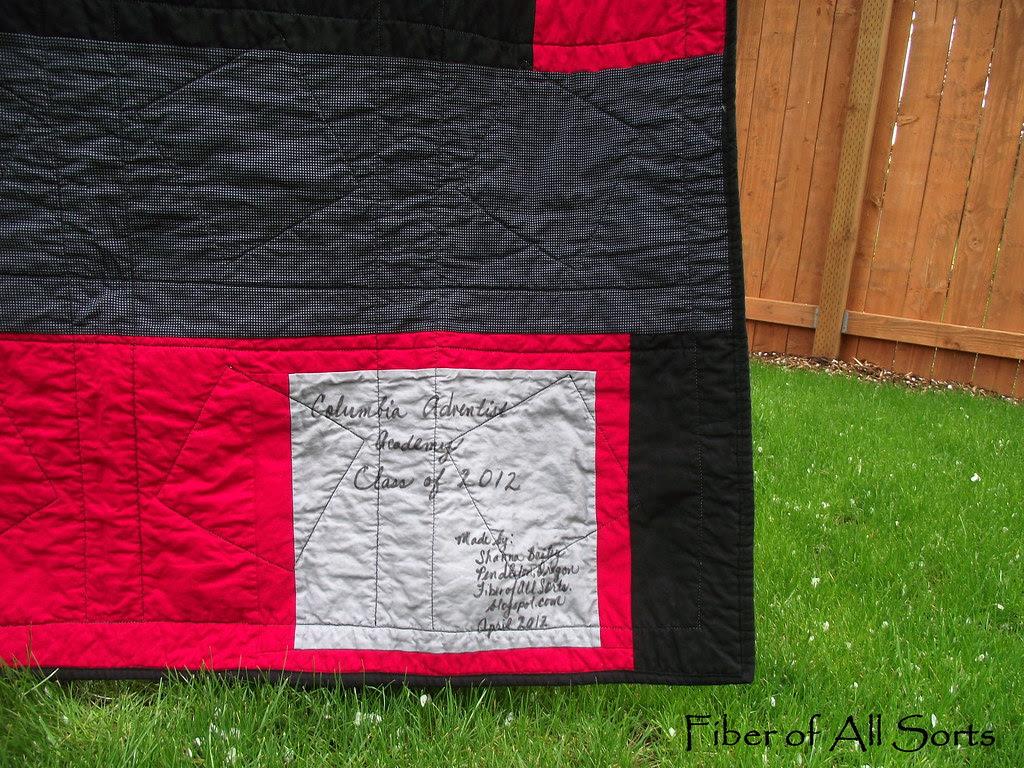 CAA 2012 Quilt Back Signature Block