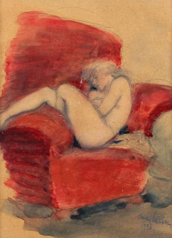 red chair 1930