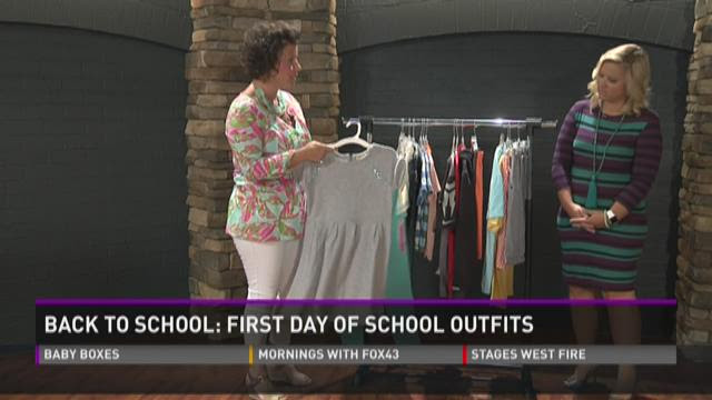 Back To School: First Day of School Outfits