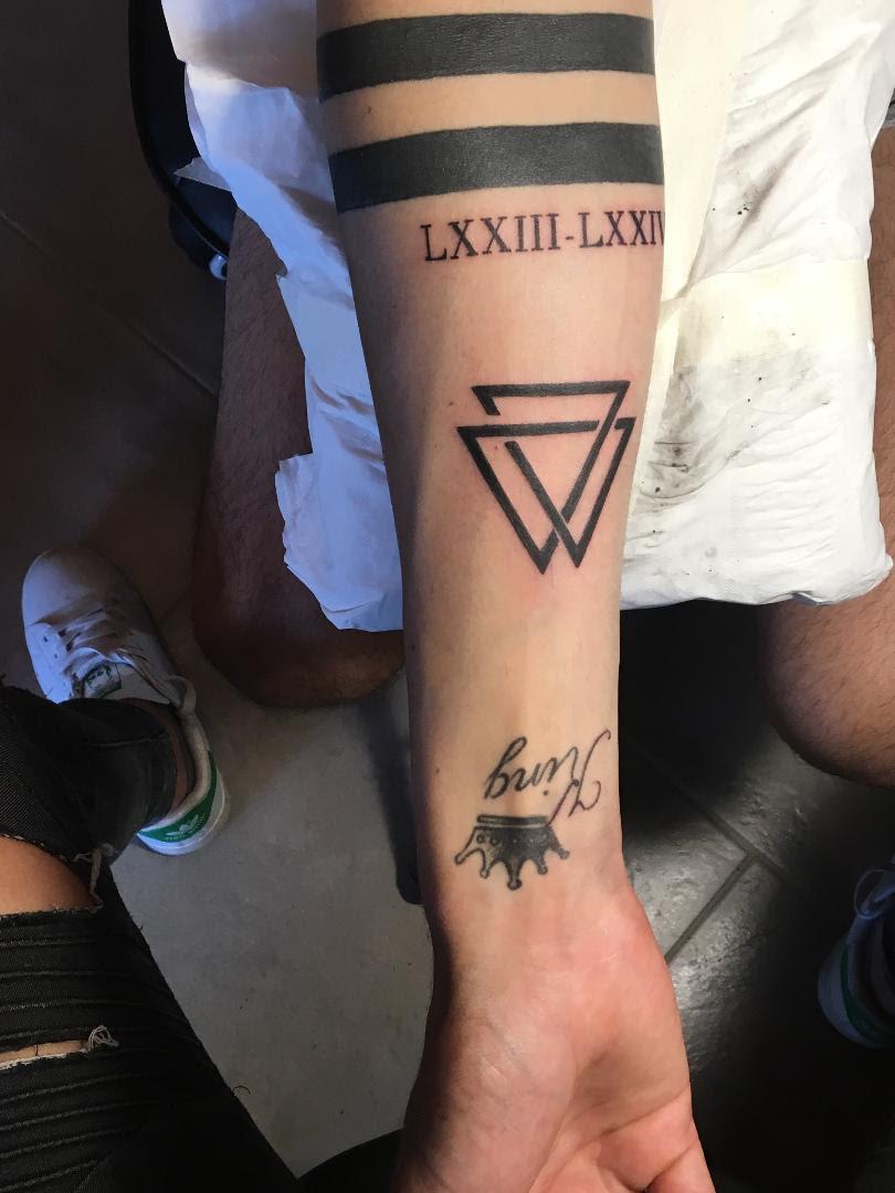 Tribal Tattoos X Tattoo Homme