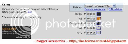 Adsense Ad customization to suit Firebug Blogger template