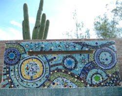 Garden Murals Wall Awesome Mosaic Tile Walls Garden Murals
