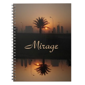 middle east sunrise note book