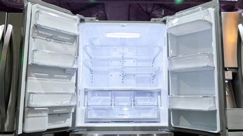 lg french door refrigerator youtube