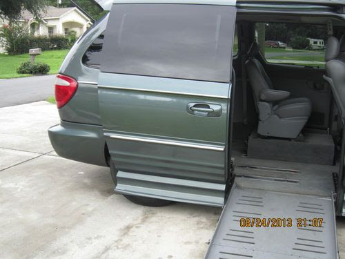 Sell Used Chrysler Town Country Limited Handicap