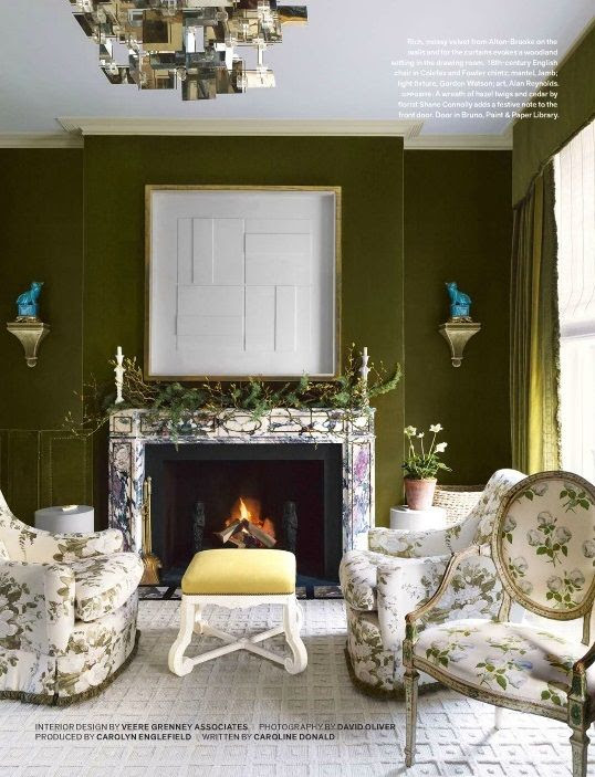 Colefax Fowler Bowood Chintz Room Archives Lacquered Life