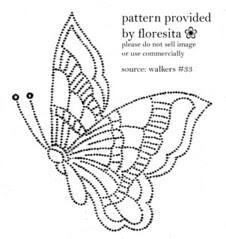 walkers 33 - butterfly pattern