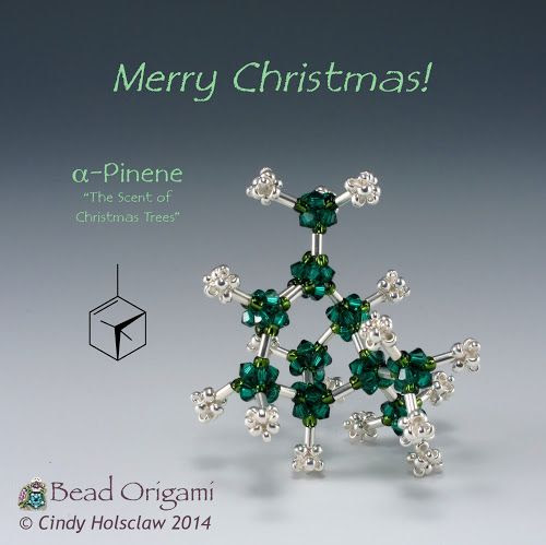 Bead Origami: Molecular Holiday Beading