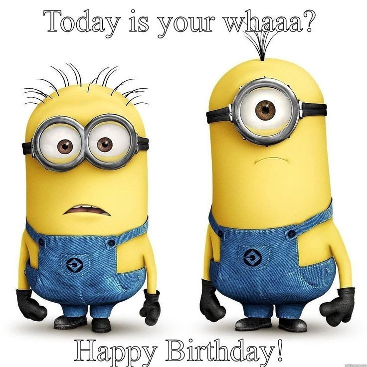 Minion Happy Birthday Quote Pictures Photos And Images For