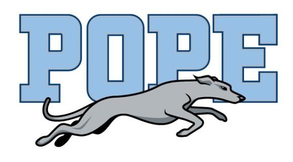 Pope High School Greyhound